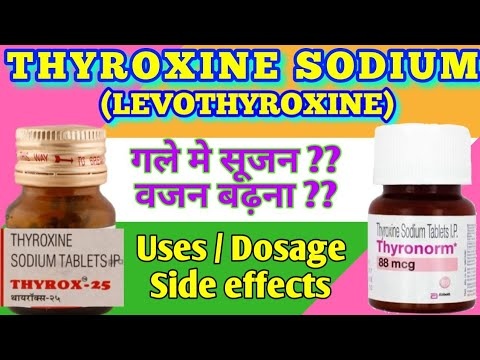 Thyroxine Sodium Tablet Thyrox 50 Mcg Thyronorm Tablet Uses