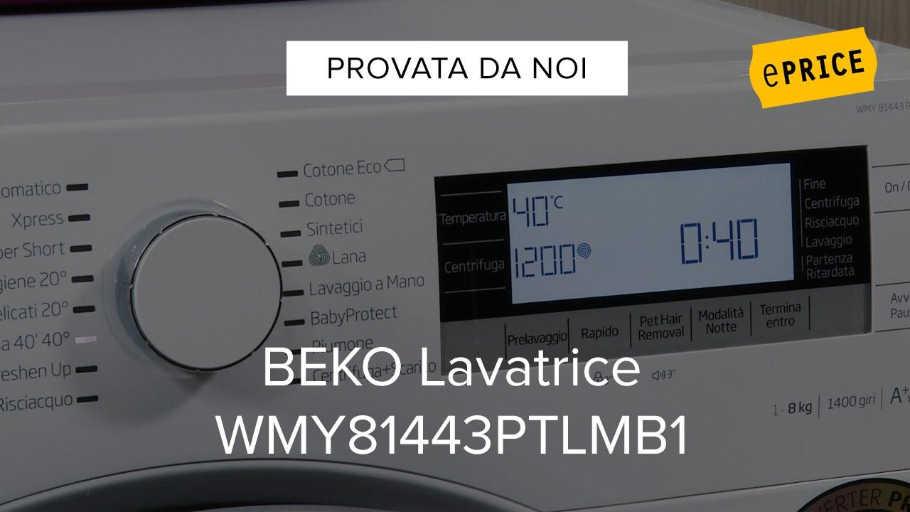 Video Recensione Lavatrice Beko WMY81443PTLMB1 - YouTube