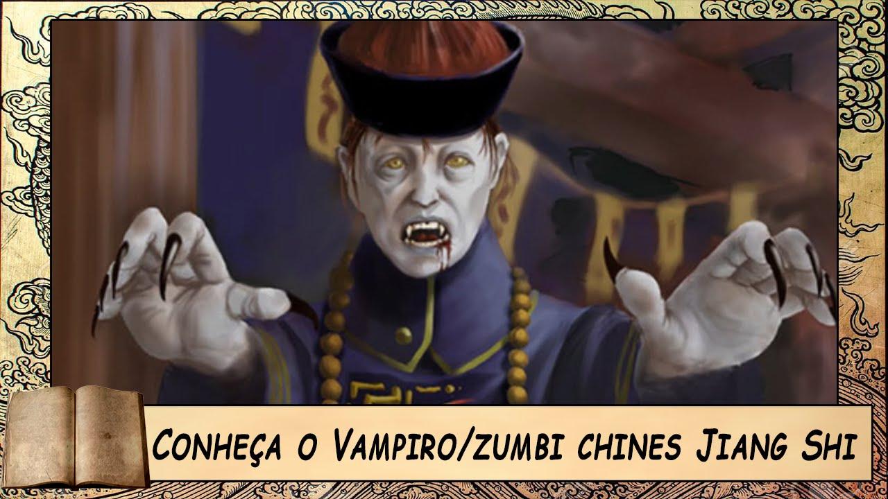 Contos do Bardo | Conheça o Vampiro zumbi chines Jiang Shi - YouTube