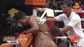 កែវ សំរិទ្ធ vs ស៊ុន ធារិទ្ធ, 31/August/2018, BayonTV Boxing | Khmer Boxing Highlights