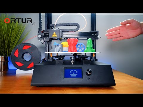 Ramapo College | Ortur 4 - High Speed 3D Printer - Unbox & Setup