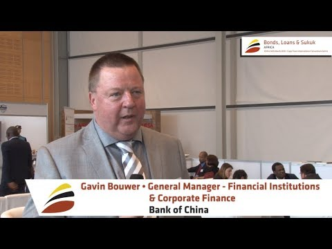 Video testimonial by Gavin Bouwer, General Manager - Financial Institutions, Bank of China