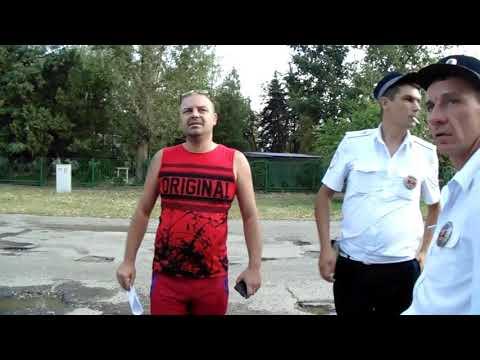 Новопавловск раздолбанный участок дороги ул Ставропольская