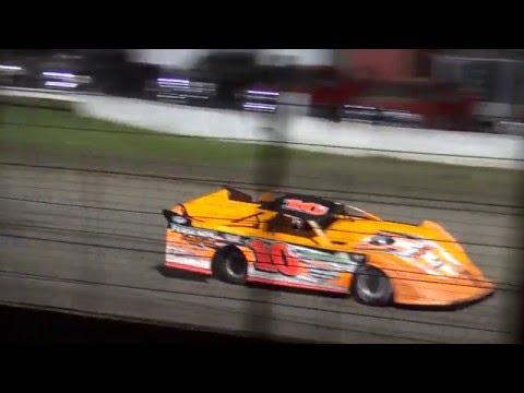 IMCA Late Model feature West Liberty Raceway 5/14/16