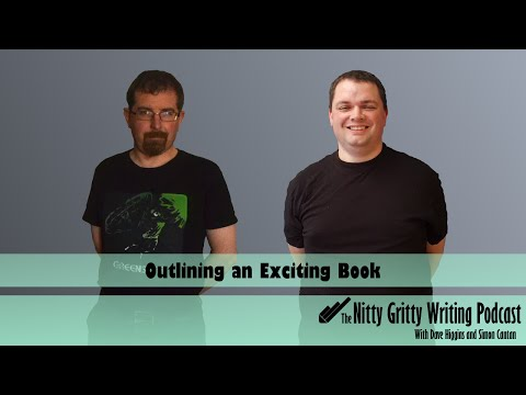 The Nitty Gritty Writing Podcast: Outlining an Exciting Book
