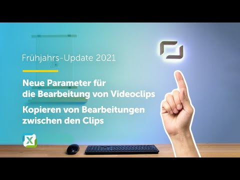 Neue videobearbeitung