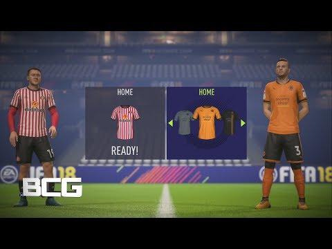 Fifa 18 English Football League Championship Ratings & Kits