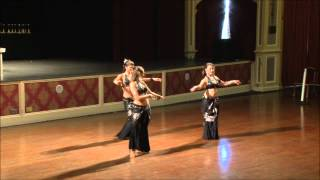 "Charming Chattes ""Revenge"" - 1st Place Tribal Fusion Small Group - World Dance Championship 2012"