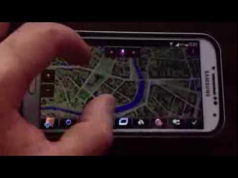 Wonderfull Running iGo Primo on Galaxy S4