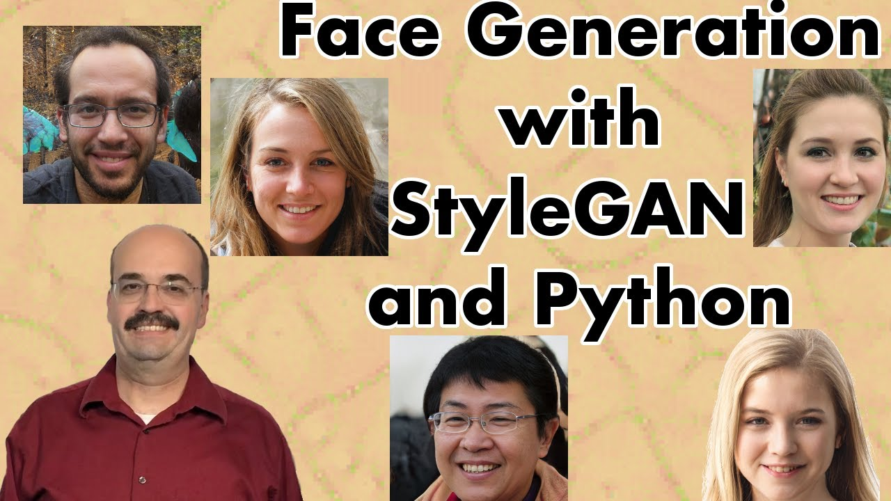 Face Generation with nVidia StyleGAN and Python (7 3)