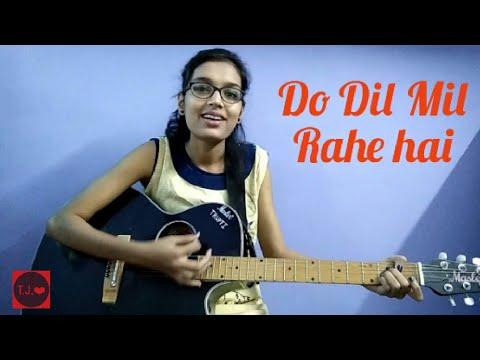 ✔ Do dil mil rahe hain (Simplified)Guitar cover| Pardes | Acoustic version