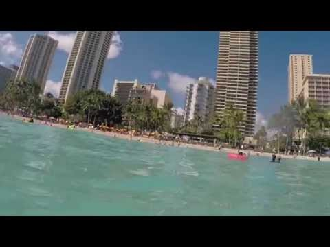 Hawaii day 2: Aloha stadium swap meet & swimming at Waikiki beach 7/8/15