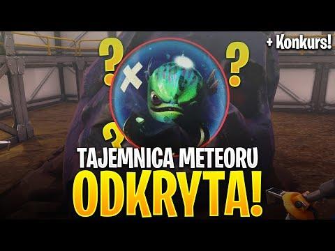 TAJEMNICA METEORU ODKRYTA! + KONKURS 2x 1000 v-Bucks! (Fortnite Battle Royale)