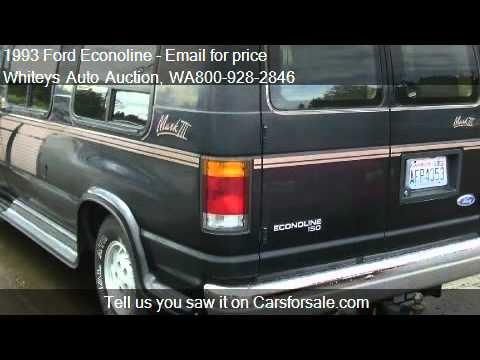 1993 Ford Econoline E150 MARK III