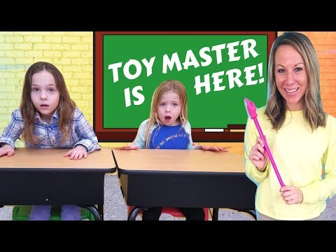 Toy Master Comes to Toy School