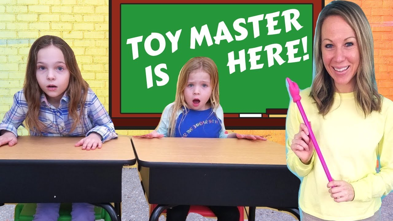 Toy Master Comes to Toy School - YouTube