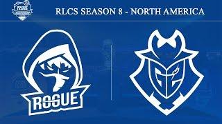 Rogue vs G2 Esports | RLCS Season 8 - North America (19th October 2019)