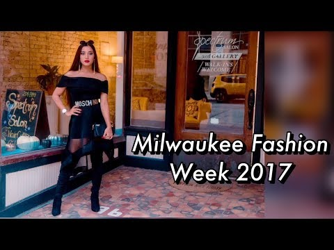 Milwaukee Fashion Week 2017 look book.