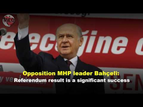 """Turkey : People vote """"Yes"""" for constitutional changes"""
