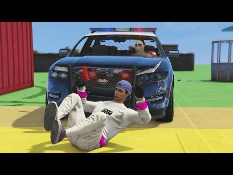 NUEVO MINIJUEGO! POLICIAS vs LADRONES! - GTA V ONLINE - GTA 5 ONLINE