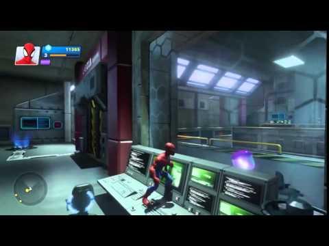 Человек паук Disney Infinity 2.0 видеообзор игры прохождение