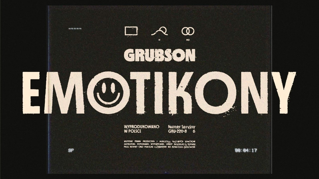 GRUBSON - EMOTIKONY (Official Video)