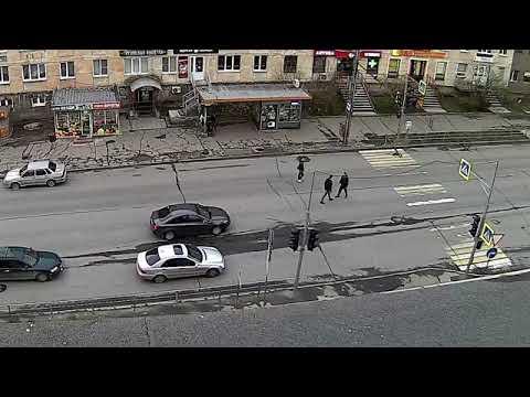 Разборка на проезжей части в Петрозаводске