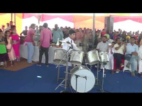 Solo drum set playing By Vishav