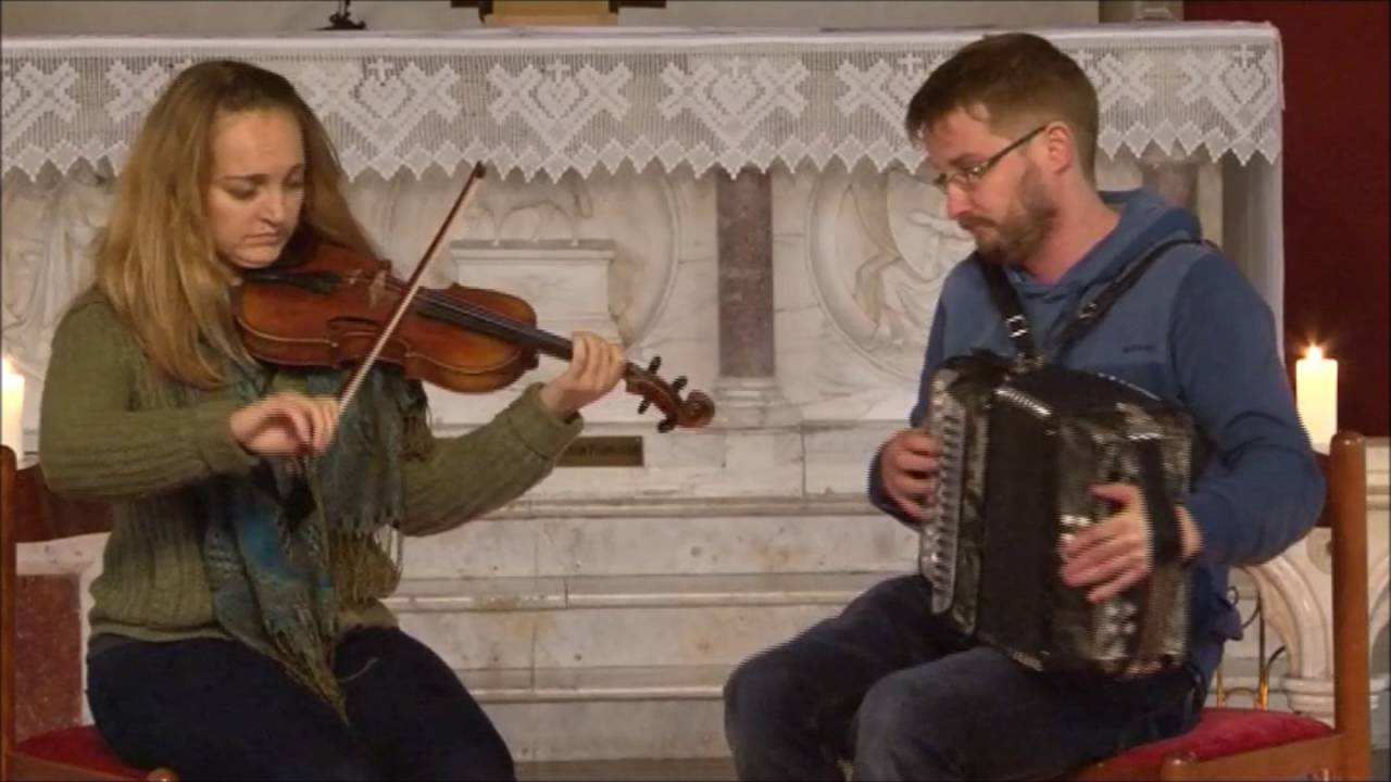 Cooley Collins Gala Concert 2015 Fiachna Ó Mongáin & Jessica Ziegler