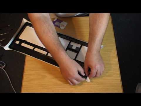 Carbon Fibre Keyboard Mod