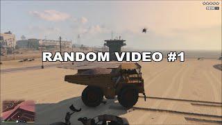 GTA V | Dump Truck Rampage | Random Video #1