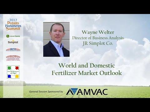 2017PBS - Fertilizer Market Outlook: Wayne Welter, Simplot