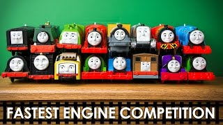 RACE 6 Thomas and Friends TrackMaster Train Collection Fastest Engine Competition