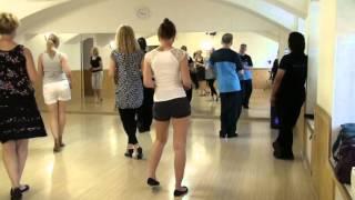 Уроки сальсы. Salsa lessons. Salsa базовые шаги 1