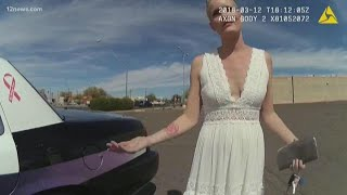 New body camera video released of 'DUI bride' arrest