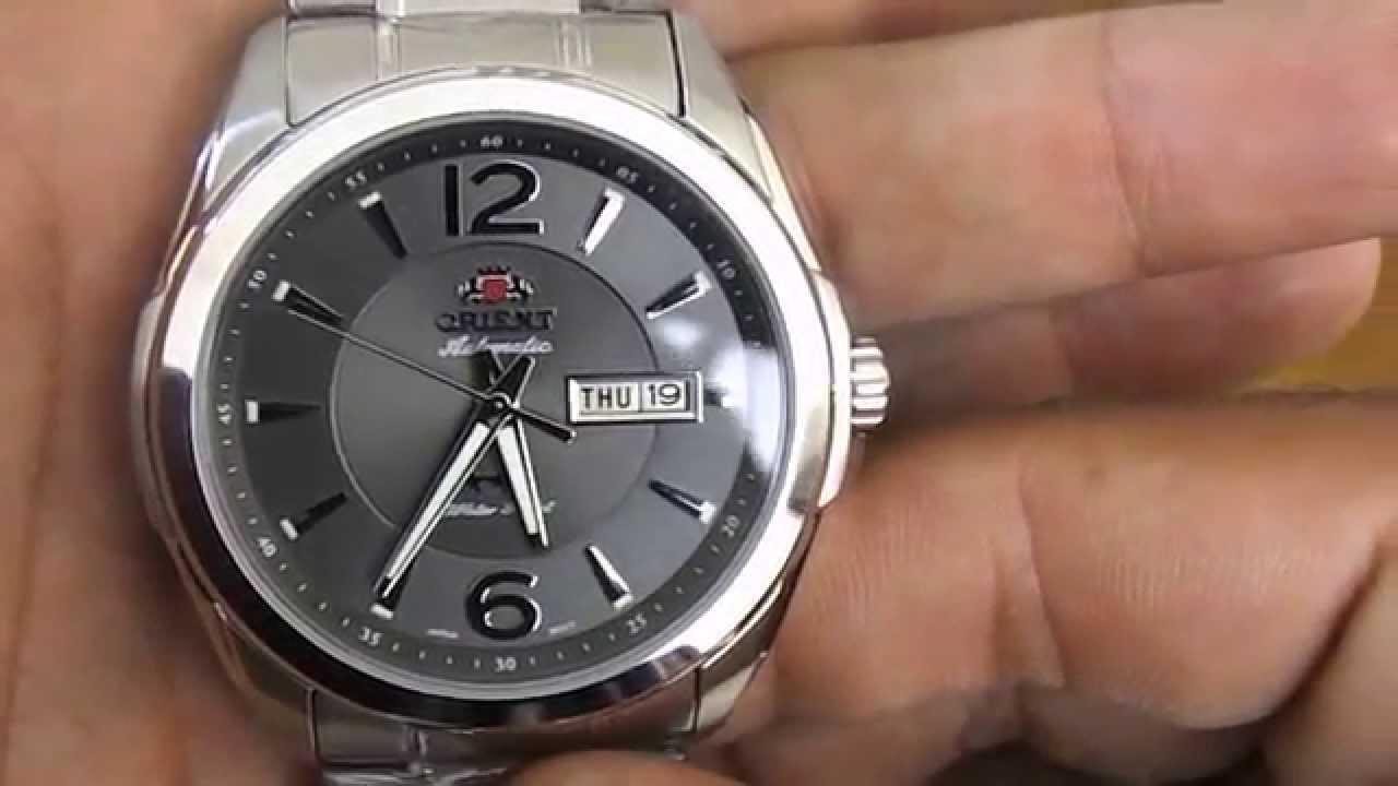 d04a7657387 Relógio Orient Automático 3 Estrelas 469ss050 - YouTube