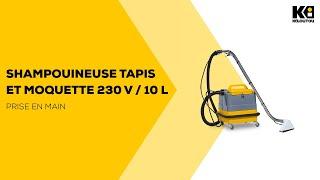 Location Shampouineuse Tapis Et Moquette 230v 10l Kiloutou