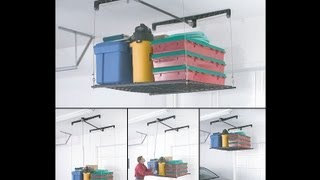 Racor Phl-1r Pro Heavylift 4-by-4-foot Cable-lifted Storage