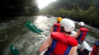 "Ocoee River Whitewater Rafting 22 ""360s By Humpty Dumpty Rock"""