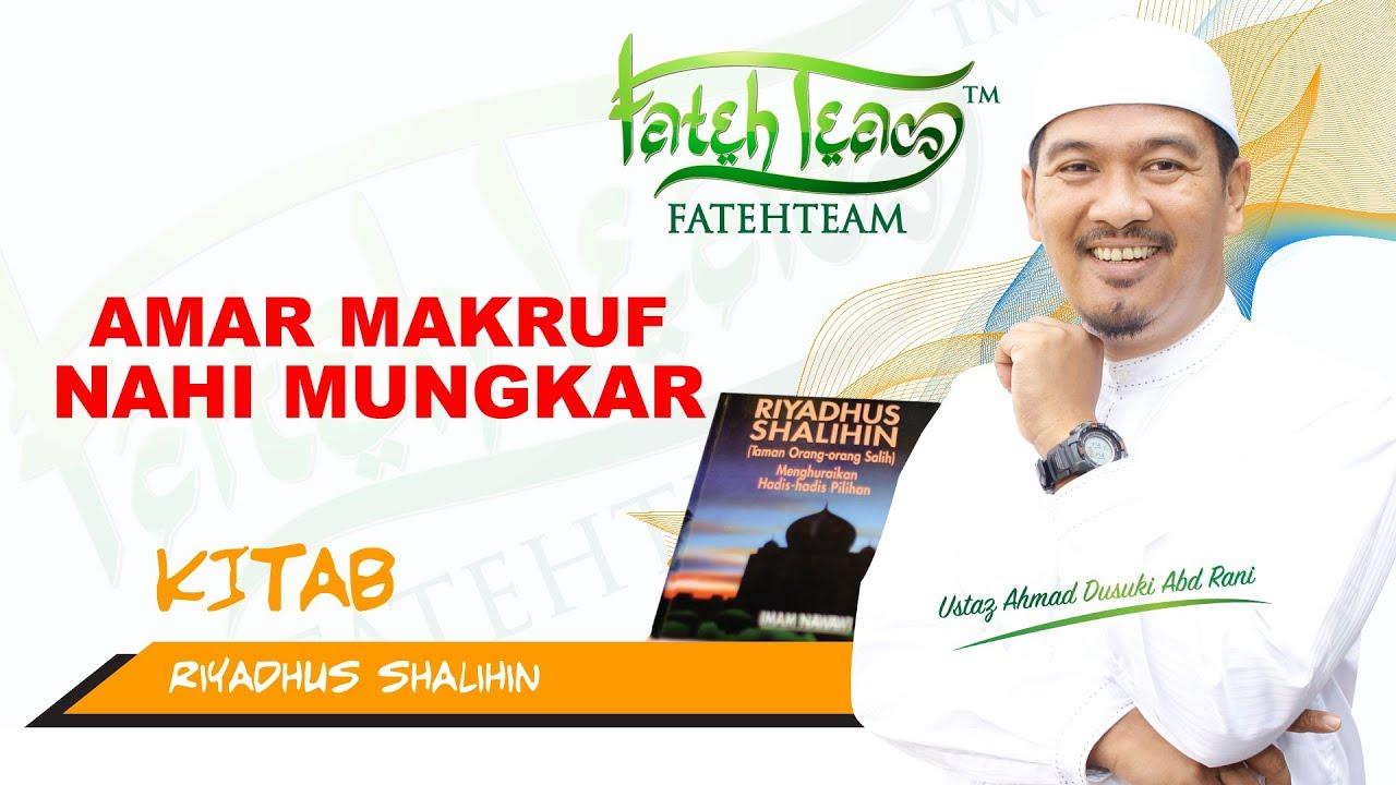 Ustaz Ahmad Dusuki Amar Makruf Nahi Mungkar Youtube
