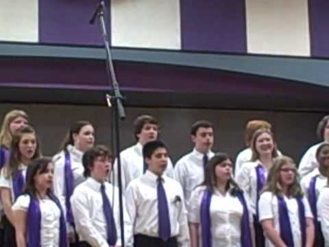 West Running Brook Middle School Glee Club part 3 start of someone to watch over me