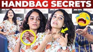 Bigg Boss Abirami Handbag & Tattoo Secrets Revealed | What's Inside the HANDBAG