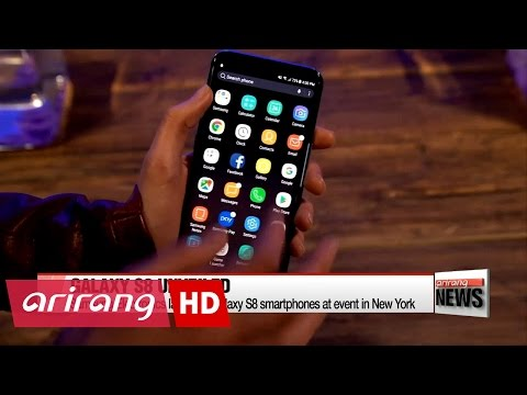 Samsung Electronics launches Galaxy S8 smartphone