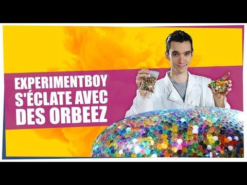 Experimentboy séclate avec des Orbeez  - ChimFizz #12 - String Theory