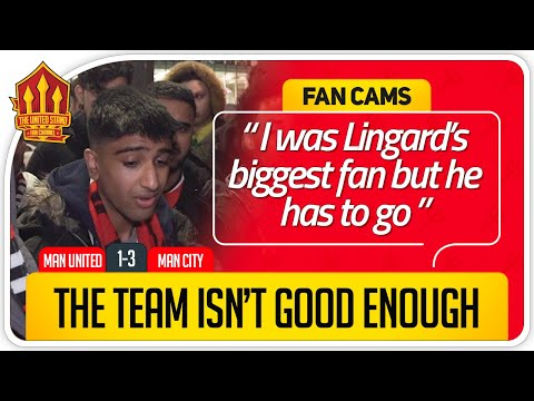 SIGN PLAYERS NOW! Manchester United 1-3 Manchester City FanCam