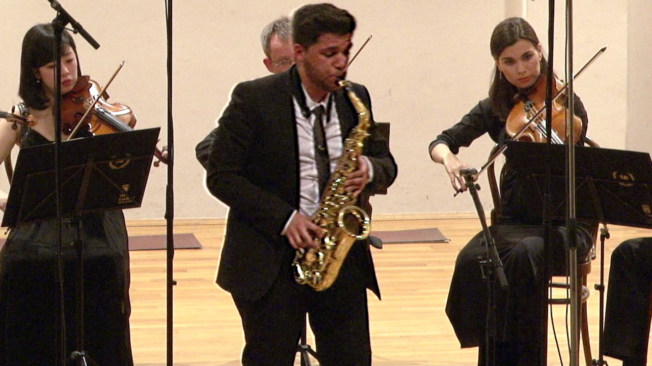 Alexander Glazunov Concerto for Alto Saxophone and String Orchestra E-flat major op. 109