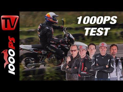 SWM Supermoto 125 R Test 2018 - Großer 125er Vergleich