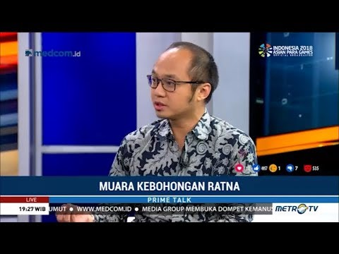 Yunarto Wijaya: Kasus Ratna akan Menimbulkan Gesekan Jika Dibiarkan
