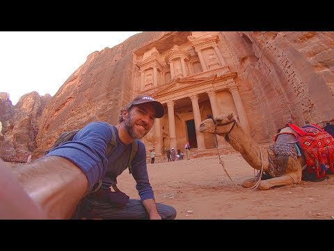 PETRA IS MIND-BLOWING! Walking to the Monastery