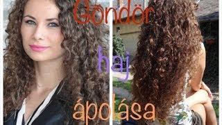 Göndör haj ápolása és kezelése I Az én hajápolási rutinom